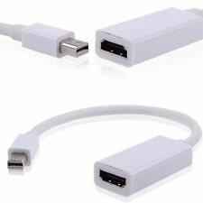 Mini Display Port Thunderbolt DP To HDMI Adapter Cable For Mac Macbook Pro Air #