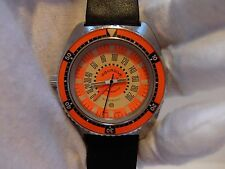 MASSIVE VINTAGE AQUADIVE TIME DEPTH 50 DIVER WATCH (WATCH THE VIDEO)