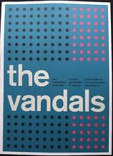 "The Vandals, Sublime, 2 Sided Punk/Rock Concert Mini Poster Art 14"" x10"" Ref:181"