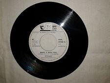 """Bread / Make It With You – Disco Vinile  45 Giri 7"""" Edizione Promo Juke Box"""