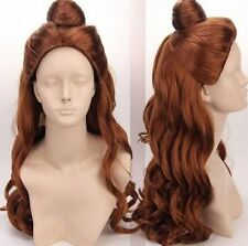 COS Princess Beauty and the Beast - Bell Princess Cosplay Wig