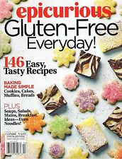 Epicurious GLUTEN-FREE Everyday Summer 2016 146 Recipes cINDEX Conde Nast $13