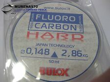 MONOFILO BULOX FLUORO CARBON 100% HARD 50mt 0,148mm 2,86kg - FIL70