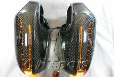 Mercedes Benz W209 02~09 CLK-Class 3K CARBON FIBER Arrow LED Side Mirror Cover