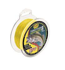 WFT TargetFish Zander 150m 8-fach rundgeflochten 0,15mm gelb 10kg (0,07€/1m)