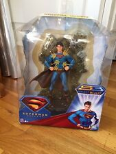 DC Invulnerable Superman Returns S3 Select Sculpt Action Figure Rare NIB