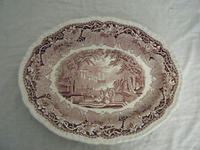 C4 Pottery Mason's Stratford/Vista Serving Plate Oval Large 38.5x31cm 2E2C