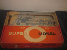 LIONEL TRAINS 2547WS SUPER O 637 STEAM FREIGHT SET BOX ONLY 1960