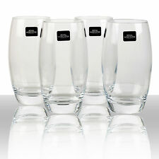 4 Kwarx Crystal Royal Worcester 50cl Tall Tumblers Drinking Glasses Gift Box Set