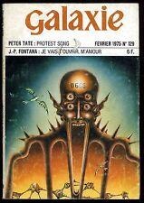 REVUE GALAXIE 2 eme série n°129 Février 1975 FONTANA-TATE
