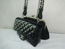 Authentic Chanel two wallets on chain Excellent Condition