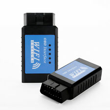 WiFi ELM327 OBDII OBD2 Interface Auto Diagnosegerät Scanner für iPhone iPad PC
