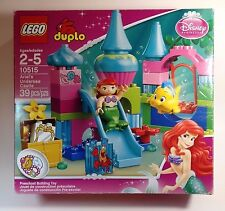 Lego Duplo Ariel's Undersea Castle 10515 Original Box Printed Instructions
