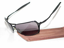 OAKLEY INMATE WIRE POLISHED BLACK DENZEL BOOK OF ELI SPIKE FELON PROBATION XX