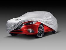 Mazda3 2014-2016 Skyactiv Hatchback New OEM silver car cover 0000-8J-L21