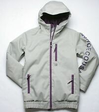 DC Shoes Boys Ripley Snowboard Jacket (M) Drizzle / Purple Pennant