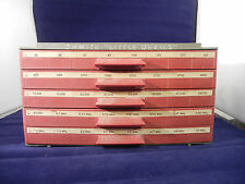 RARE!Vintage OHMITE Little Devils 5 Drawer Cabinet Display w/tonsofNOSResistors
