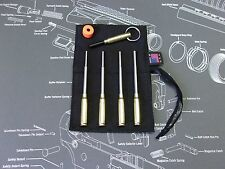 7pc ROLL PIN STARTER PUNCH SET w POUCH MAGNETIZER + .223 PIN PUSHER vise block