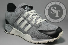 ADIDAS EQUIPMENT EQT RUNNING SUPPORT AQ8454 WOOL GREY CORE BLACK WHITE SZ: 12