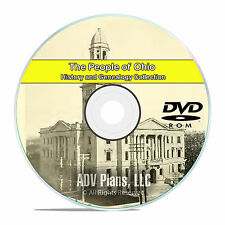 Ohio OH, People Civil War Stories History & Genealogy 104 Rare Books DVD CD B14