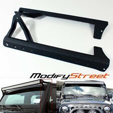"07-15 JEEP WRANGLER JK 50""/52"" LED LIGHT BAR STEEL UPPER ROOF MOUNTING BRACKETS"