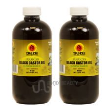 "Tropic Isle Living Jamaican Black Castor Oil 8oz ""Pack of 2"" w/Free Applicator"