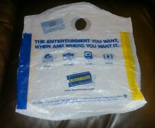 Blockbuster video rewards card and shopping bag rare & collectable membership