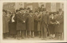 Margate photo. Men in Top & Bowler Hats by Cameo Photo, &a High St., Margate.