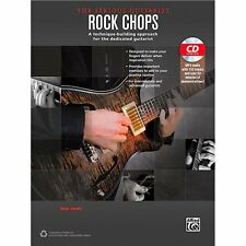 Alfred The Serious Guitarist Rock Chops Book & CD ,40266