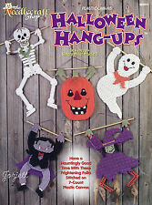 Halloween Hang-Ups Ghost Witch Dracula Skeleton & More plastic canvas patterns