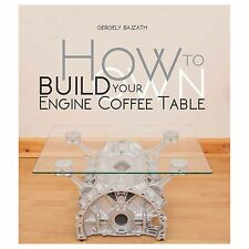 How To Build Your Own Engine Coffee Table Paperback Guide Book/Manual