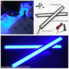 14cm Blue COB Car LED Decorative Atmosphere Lights Glow Kits 2In1 For Acura MDX