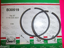 NEW 46 MM PISTON RING SET FITS STIHL BLOWERS CHAINSAWS  11180343001 30519 BTT