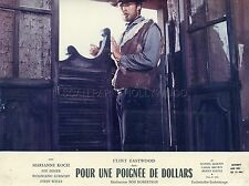 CLINT EASTWOOD  PER UN PUGNO DI DOLLARI  1964 VINTAGE PHOTO ORIGINAL #1