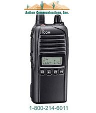 ICOM IC-F3230DS-13, VHF 136-174 MHZ, 5 WATT, 128 CHANNEL HANDHELD TWO WAY RADIO