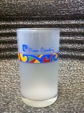 Pierre Cardin souvenir collectible unique milky translucent drinking glass