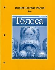 Golosa Bk. 1 : A Basic Course in Russian by Galina Shatalina, Richard M....