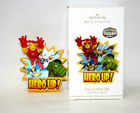 Hallmark Ornament 2011 Time To Hero Up - Super Hero Squad - #QXI2627