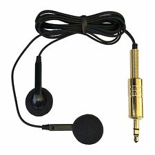 BINAURAL EAR MOUNTED STEREO MICROPHONE HIDDEN INTO HEADPHONES SENSITIVE & CLEAR