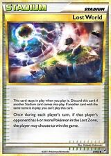 CALL OF LEGENDS POKEMON STADIUM CARD - LOST WORLD 81/95