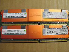 IBM 38L5903 2GB kit (2x 1GB) 2Rx8 PC2-5300F-555-11 Server RAM 39M5784