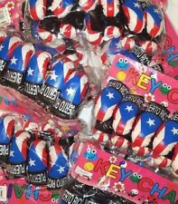 LOT OF 3 PUERTO RICO RICAN FLAG MINI BOXING GLOVES KEY SOUVENIRS WHOLESALE
