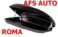 BOX AUTO PORTAPACCHI PORTAOGGETTI G3 HELIOS 480 NERO MADE IN ITALY OMOLOGATO