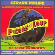 Pierre et le Loup  by G'rard Philipe CD  Music Audio Children's Music