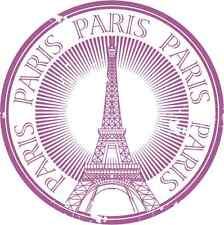 "Paris Eiffel Tower Travel Car Bumper Sticker Decal 5"" x 5"""