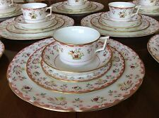 8 PLACE SETTINGS WEDGWOOD Williamsburg BIANCA China 40 Pcs FREE SHIPPING