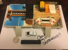 Micro Machines Travel City Lot Of 2 Sets - Rock Quarry & Bridge W/2 Vehicles V1