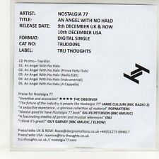 (EP8) Nostalgia 77, An Angel With No Halo - 2013 DJ CD