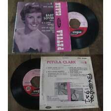 PETULA CLARK - Baby Lover Rare French EP 1957 Pop Label Vogue