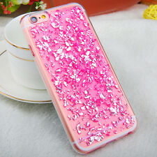 Luxury Bling Glitter Crystal Foil TPU Phone Case Cover For iPhone 6 6S 7 Plus
